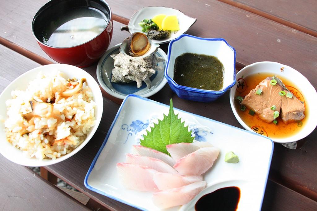 さざなみ定食_にしわき鮮魚店 nishiwaki