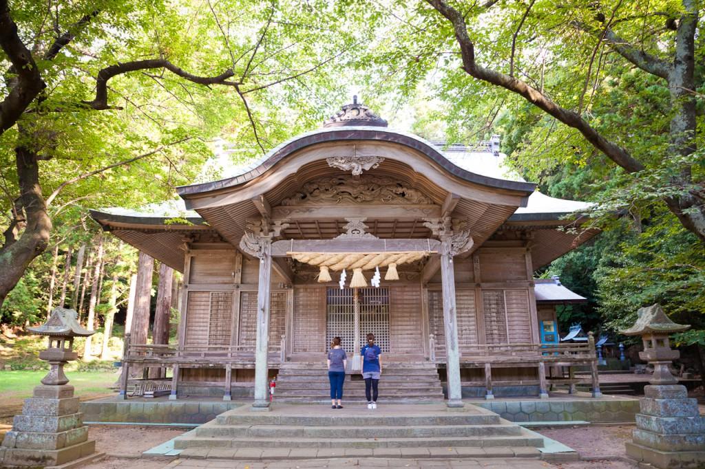 Yurahime Shrine 由良比女神社