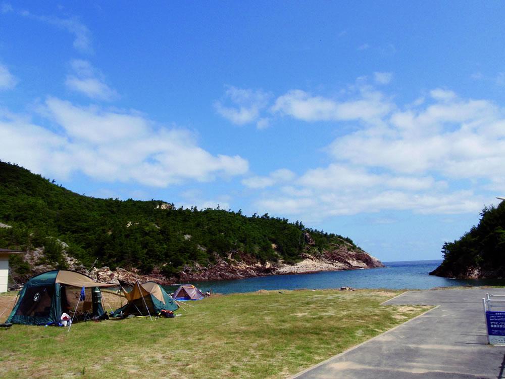 camping_mimiura 耳裏海水浴キャンプ場
