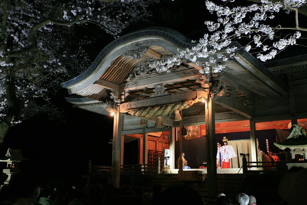 国賀びらきフェスタ 夜神楽