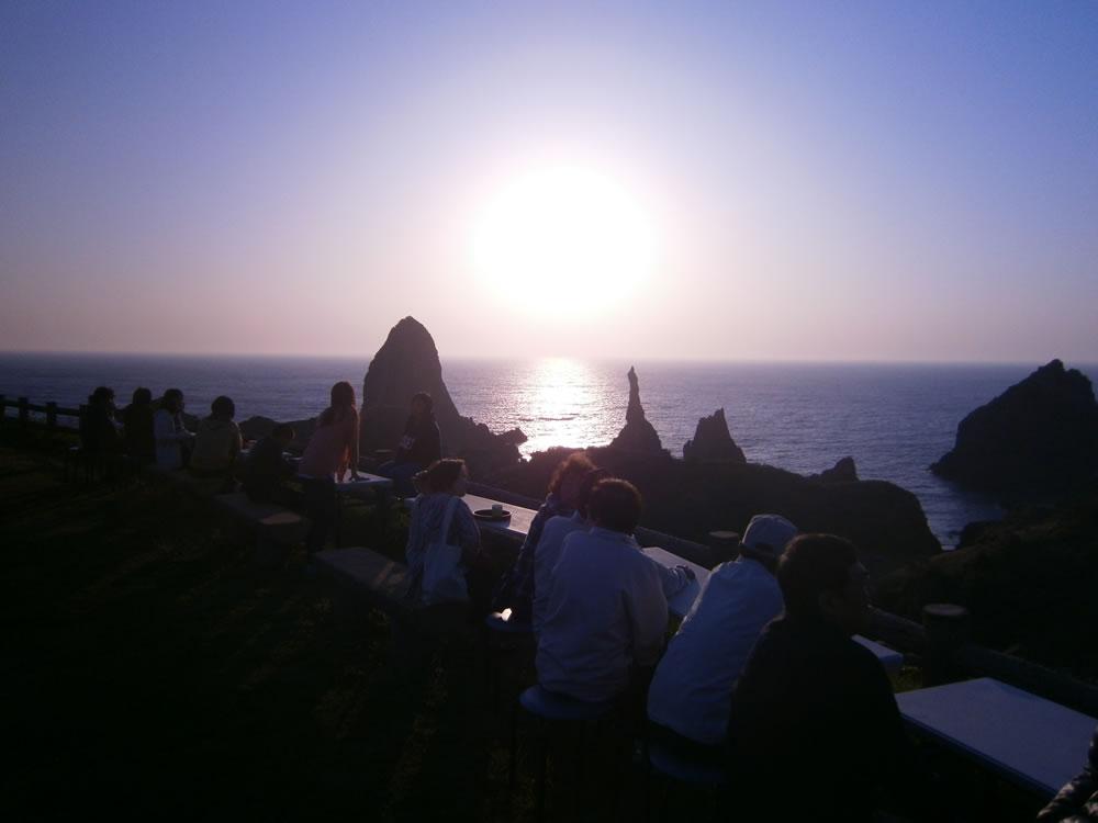 国賀びらきフェスタ サンセットカフェ