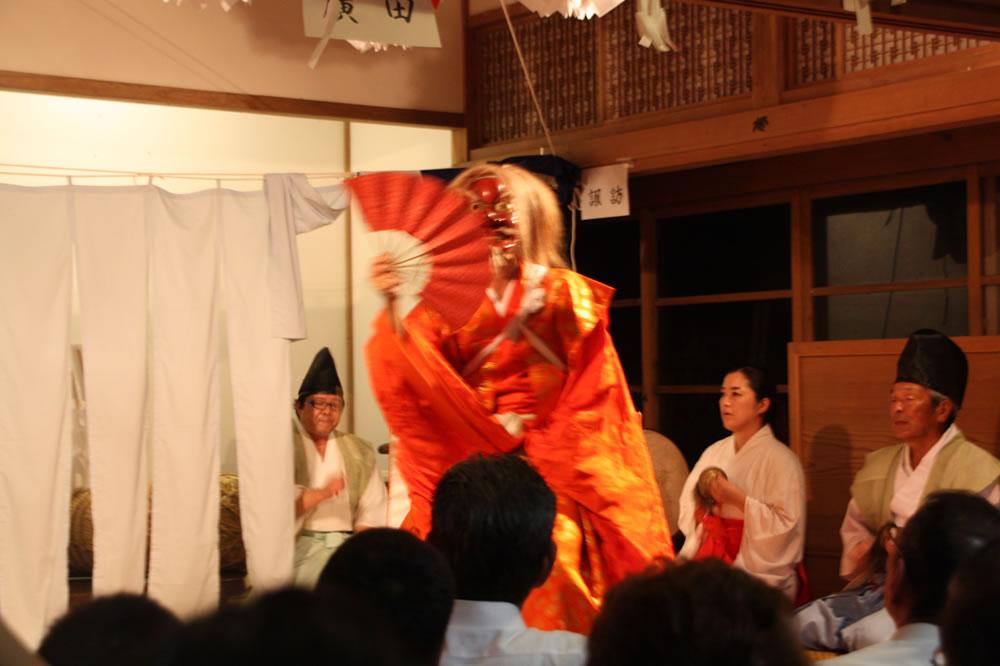 焼火神社祭り