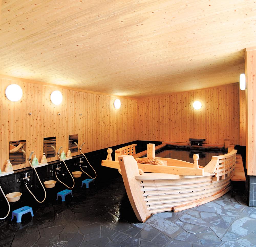 ホテル鶴丸 風呂