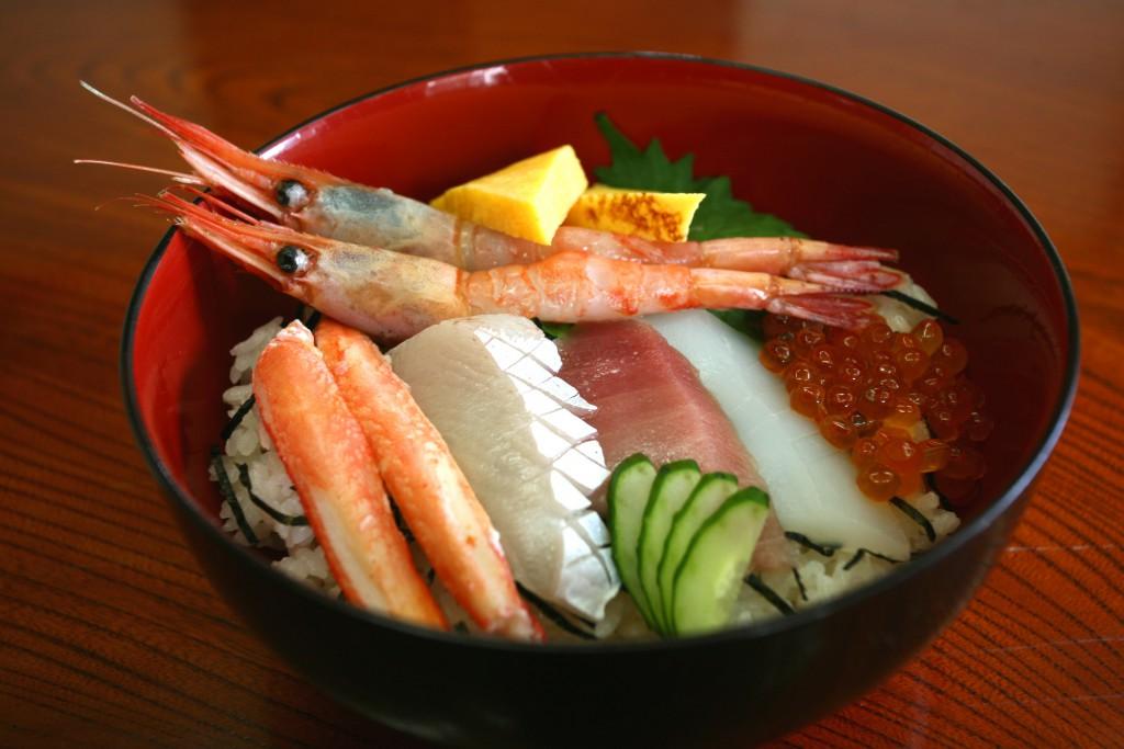 磯四季海鮮丼