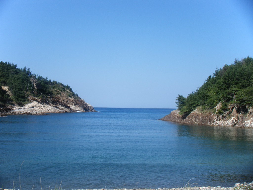 耳裏海水浴場 mimiura beach