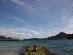 大山海水浴場 oyama beach