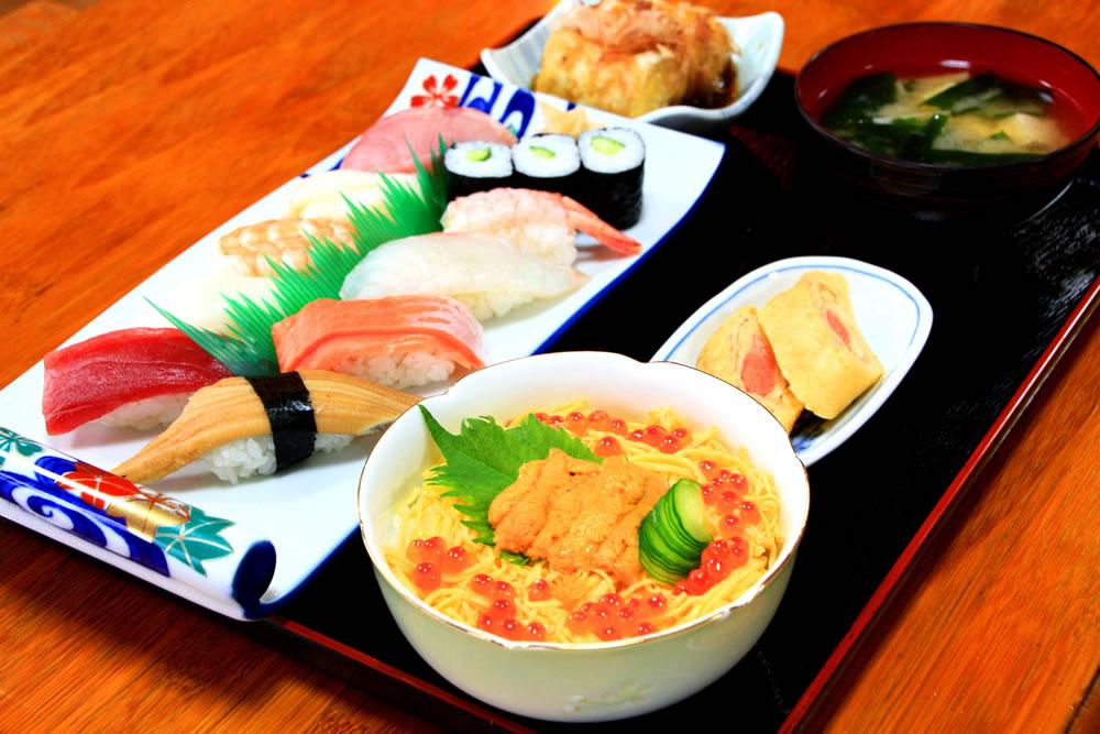 善_よくばり寿司定食 zen