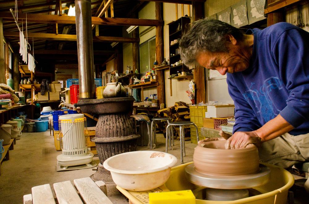 焼火窯 陶芸教室