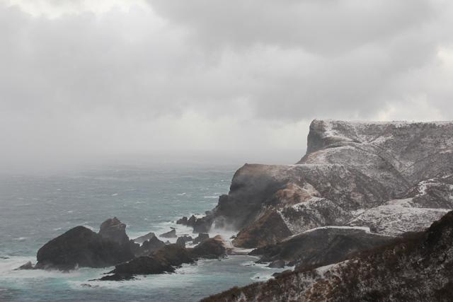 国賀海岸の冬